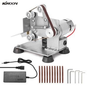 KKMOON Multifunctional Professional Portable Electric Belt Sander Grinder DIY Polishing Grinding Machine Cutter Edges Sharpener