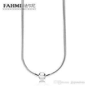 YHAMNI 100٪ 925 590742HV حظات قلادة من الفضة الملونة البهية فاتن النساء والمجوهرات هدية الأصل