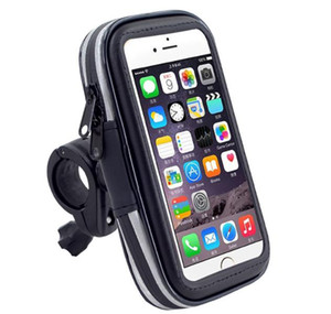 Universal Bicycle Motorcycle Phone Holder Mobile Stand For Samsung iPhone GPS Bike Moto Holder Waterproof Bag Bike Accessories