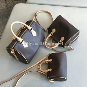 Классическая качественная женская сумка из натуральной кожи серийный номер cross body shoulder bag women speedy brand designer