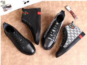 Hombres de lujo zapatos mocasines negros de cuero de los hombres de la marca zapatos casuales cómodos primavera / otoño moda transpirable zapatos de los hombres dh2a23