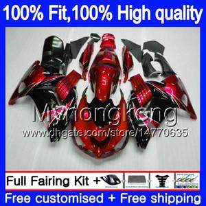 Para la inyección KAWASAKI ZX 14R ZZR1400 2006 2007 2008 2009 2010 2011 223MY.11 Red Pearl ZZR1400 ZX14R ZX14R 06 07 08 09 10 11 carenados