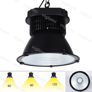 Led High Bay Lights 100W 150W 200W Waterproof IP65 Industrial Lighting 90° Cover with Grass Warehouse Garage Workshop highbay led DHL