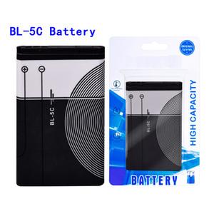 Baterias de telefone Li-íon BL5C BL5C BL5C BLA 5C Bateria de lítio 1020mAh para Nokia 1112 1208 1600 2610 2600 N70 N71