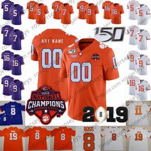 Personalizado 2019 Clemson Tigers # 14 Diondre Overton 22 Will Swinney 81 Drew 26 Sheridan Jones 88 Braden Galloway Hombres Juvenil Jersey para niños 4XL