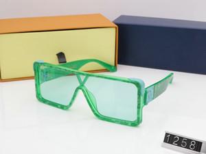 2020 Gold Luxury MILLIONAIRE Sunglasses Full For Designer Hot Sell Frame Gold Top Men Vintage Z1258E New Plated Women Trend Sunglasses Bnbr