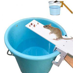 Home Garden Pest Controller Rat Trap Quick Kill Seesaw Mouse Catcher Bait