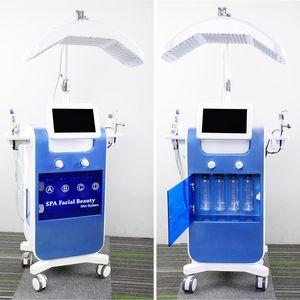 8 en 1 auqa Hydra Facial Water Machine Oxygen Jet Peel Vaporiser BIO Lifting à ultrasons Peeling dermabrasion machine
