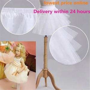 Nuevos enaguas para niños para el vestido formal / para niña de flores Sin aro Crinolina corta Niñas / Niños / Camiseta de niños