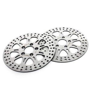 """BIKINGBOY 11.5"""" Front Rear Brake Discs Disks Rotors For Dyna 1340 FXD FXDL FXDWG FXR FXRS FXRT FXRD FXLR 1987-1999"""