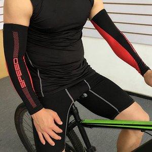 1pc Spor Bisiklet Kol Kollu Güneş UV Koruma Kılıfı Buz İpek Kolluğun Running Balıkçılık Binme Basketbol Kol Warmers İçin