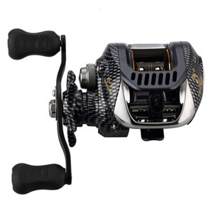 6.3:1 Baitcast Fishing Reel 13 Bearing Large Line Capacity Lightweight Left-handed Right-handed Bait Casting Fishing Wheel Tool T191015