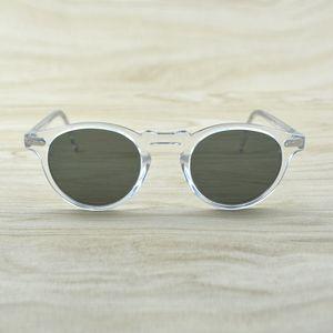 Gregory Peck mujeres de los hombres gafas de sol de la vendimia gafas de sol polarizadas Gafas de sol retro OV5186 OV 5186