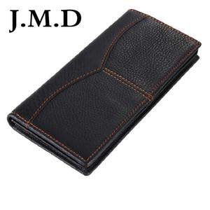 J.M.D 새로운 도착 100 % 남자 패션 가죽 지갑 Geninue Cow Leather 보증 빈티지 지갑 지갑 2 색 8059A