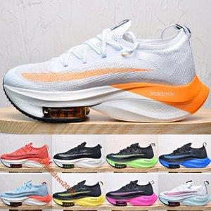 Top Увеличить Alphafly Next% Мужчины Женщины марафон кроссовки 2020 Дизайнер воздушной подушке Белый Оранжевый Желтый Синий кроссовки Размер 5.5-11