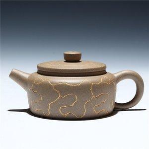 Ceramica merci di qualità tutto il Handmade teiera Yixing autentica consigliato Tea Oro Bell, 180 ml Teiere