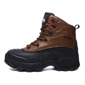 High Quality Mens Steel Toe Work Safety Shoes Lightweight Breathable Anti-Smashing Anti-Puncture Anti-Static Protective Boots 8#22 20D50