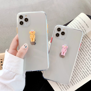 Cartoon Sesame Street Clear Phone Case For iPhone X XS MAX 8 7 6 6s Plus Shockproof Back Cover For iPhone XR Fundas Coque