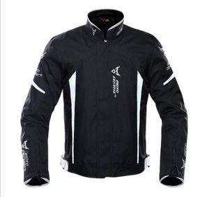 Motocentric Yansıtıcı Yarışlar Kış Motosiklet Su geçirmez ceketler Suit Pantolon Ayrılabilir Koruyucu Dişli