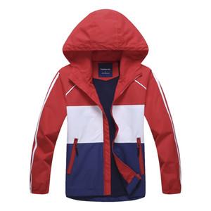 Novas Crianças primavera Inverno grande escola adolescente menina À Prova D 'Água com capuz de acampamento esportes casaco de lã casaco ao ar livre crianças roupas