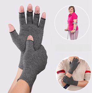 Guantes Artritis Compresión Guante anti magnético artritis reumatoide Terapia de Salud de la mano Dolor ayuda de muñeca Deportes Seguridad Guante LJJA3458