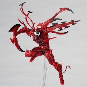 New 16 centímetros Spider-man Carnage Coleção Venom Action Figure Toys Christmas Doll Collector presente com caixa de Y19062901
