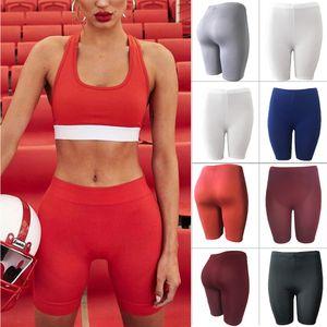Leggings para mujer Stretch Biker Shorts Workout Spandex New Yoga Pants S, M, L, XL
