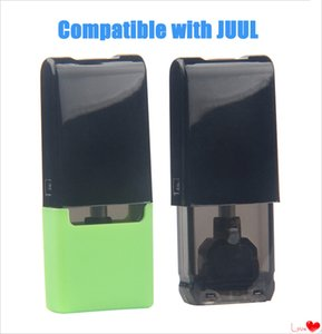 Dispoable Thick Oil Empty Cartridges 1ml Cotton Coil Vape Pen Pods Carts Closed System Vapor Tank Compatible with Battery