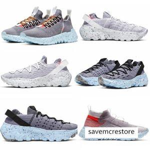 Nuovo elencato 01 02 04 Spazio Hippie uomini donne scarpe bianco grigio-grigio-giallo CQ3989-002 CD3476-001 -100 CQ3986-001 dimensioni 36-45 in esecuzione