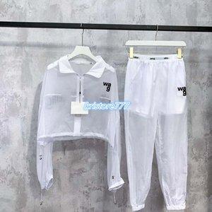 ragazze set giacca lettera cappotto stampa magliette felpa d'epoca parti superiori delle donne + da jogging pantaloni in jersey pantaloni pista outwear activewear tuta