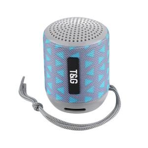 2019 мини bluetooth динамик Tg129 беспроводной портативный сабвуфер MP3-плеер FM-радио аудио TF карта USB открытый портативные колонки