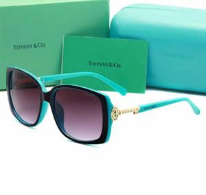 Lunettes de soleil originales de marque BOX de la mode 4043 lunettes de soleil en plein air d'ombrage de mode classique dame de luxe lunettes de soleil miroir pour livraison gratuite