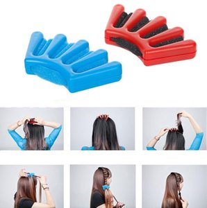 Capelli Braider Braid Stylist spugna Accessori Donna Plait Capelli Twist Hair Styling intrecciatura Styling Tools F0062