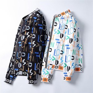 20 Spring Autumn Men Casual Streetwear Floral Hoodie Jacket Man Waterproof Clothes Mens Windbreaker Coat Male Outwear m-3xl