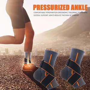 Breathable Ankle Guards Foot Care Gears Sports Polyester Fiber Compression Football Basketball Tools for Sports Supply