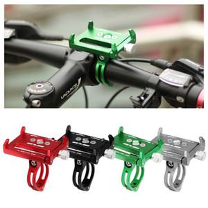 Suporte Phone Holder Suporte de montagem Base de alumínio para E-scooter de bicicleta Motorcycles