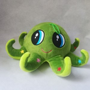 about 25x12cm green cartoon octopus plush toy lovely octopus soft doll birthday gift b0785