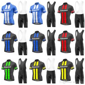 2018 GIANT Vêtements Pro Cycling Bike Sets uniforme d'été Mans Maillot cyclisme Set route Maillots Vélo VTT Bike Wear sport C2905