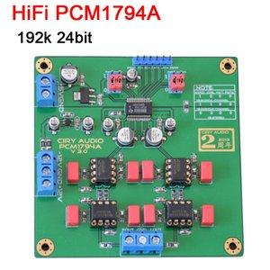 Livraison gratuite Module HiFi PCM1794A DAC Décodeur Module 192k 24bit IIS PCM1794 DAC L