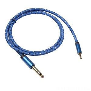Aux Synthétiseur Claviers Câble 35 mm 635mm Audio Jack Câble 35-635 mâle à mâle aux Cord pour le lecteur CD Guitar Mixer Amplificateur Président