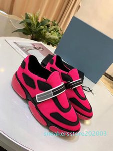 Cloudbust Sneaker Women Casual Shoes Men Fabric Sneaker Designer Mesh Women Hook And Loop Strap Cloudbust Sneaker With 40mm Heels s03
