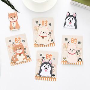20 Pcs Kawaii Dog Akita Design Paper Scrapbooking Stickers Sticky Notes Stationery School Supplies Memo Pad Notebook Notepad