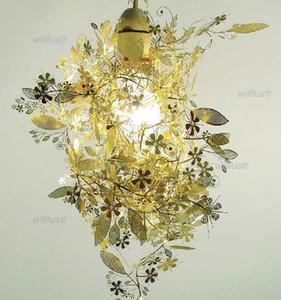 Современный дизайн Artecnica гирлянда свет Торд BOONTJE гирлянда люстра DIY свет черный золотой хром подвесной светильник