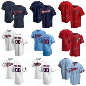 Özel 2020 Yeni Beyzbol Byron 25 Buxton Eddie 20 Rosario Josh 24 Donaldson Harmon 3 Killebrew Alex 16 Avila Formalar Erkekler Kadınlar Gençlik