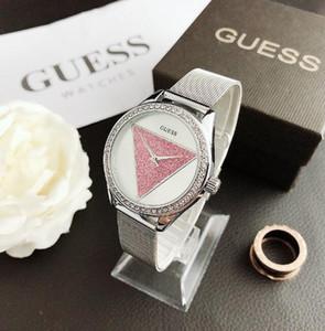 berühmte Designer-Uhr neu in Männer Produkt Modemarke Luxusuhr und Edelstahl Uhr Quarz-Uhren für Frauen guvermuten