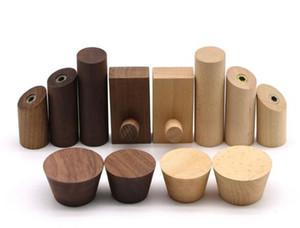 Appendiabiti da parete in legno massiccio creativo nordico dietro appendiabiti in legno