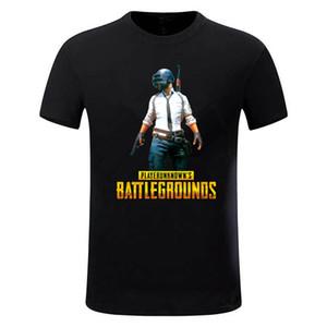 Jogador dos homens Battle Parkgrounds desconhecido T Shirt Pubg Winner vencedor Jelo de jantar de frango camisetas Marca Camiseta Novo