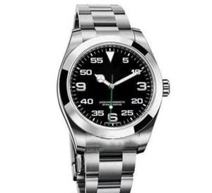 maître Top soigneusement fait ciel série Overlord 116900 montres hommes automatiques en acier inoxydable mécanique GMT 40mm montres de luxe