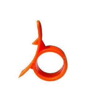Limone agrume Peeler Parer dito Type Open d'arancia buccia d'arancia dispositivo Arancione Stripper sbucciatura della cucina Strumento YYA52