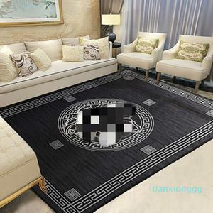 무료 배송 블랙 카펫 슈퍼 빅 커피 숍 의류 쇼핑몰 카펫 새로운 디자이너 여신 미끄럼 방지 매트 패션 할리